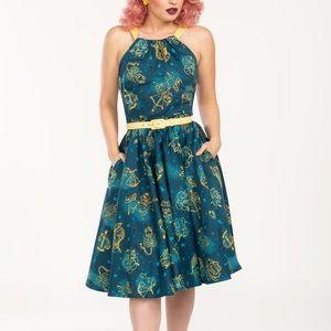 Pinup Girl Clothing Astrology Harley dress